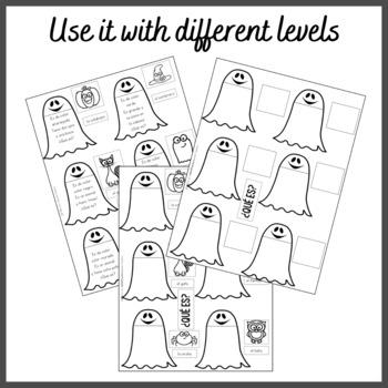 Spanish Halloween Interactive Notebook