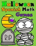 Spanish Halloween Math Games