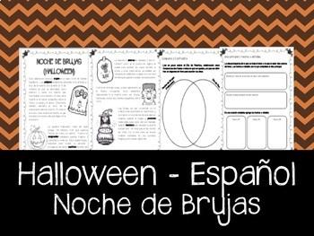Noche de Brujas en Español -Halloween