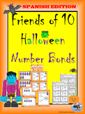 Spanish Halloween Number Bonds