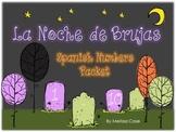 Spanish Halloween Numbers 1-10 Resource Packet