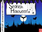 Spanish Halloween Presentation and Games