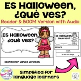 Spanish Halloween Reader & Cut/Paste ~ Es Halloween. ¿Qué ves? {en español}