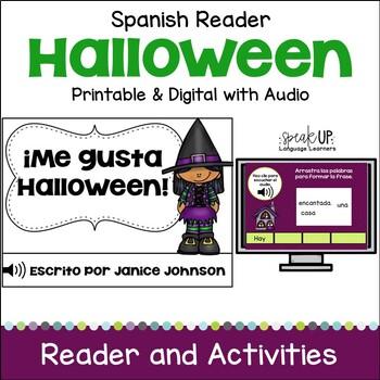 Spanish Halloween Reader & Cut/Paste ~ ¡Me gusta Halloween