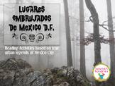 Spanish Halloween Reading Station Activities:  Lugares Emb