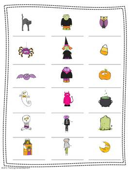 Spanish Ser, Indefinite and Definite Articles Halloween Thematic Unit