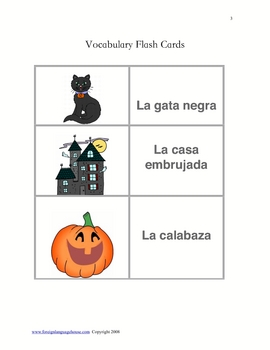 Spanish Halloween Story: Sabrina la Gata Negra