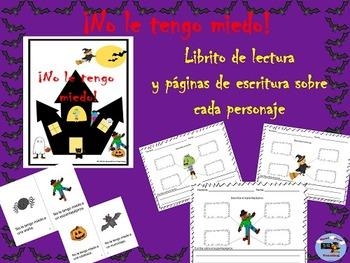 Spanish Halloween Student Book and Writing Activities