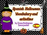 Spanish Halloween Vocabulary Words and Activities/ Vocabulario de Halloween