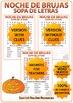 Spanish Halloween Word Search