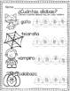 Spanish Halloween Worksheets