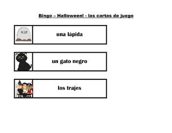 Spanish Halloween flashcards & vocabulary games - Víspera de Todos los Santos