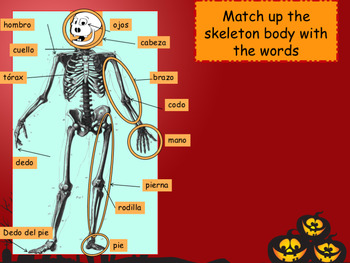 Spanish Halloween PPT for beginners