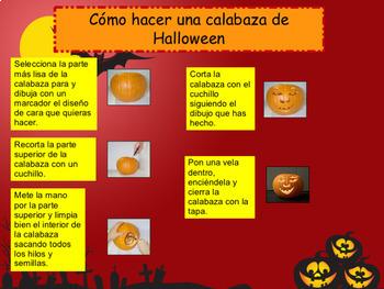 Spanish Halloween full lesson for beginners