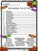 Spanish Halloween/Dia de Brujas Worksheet Pack