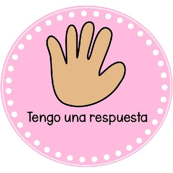Spanish Hand Signal Posters