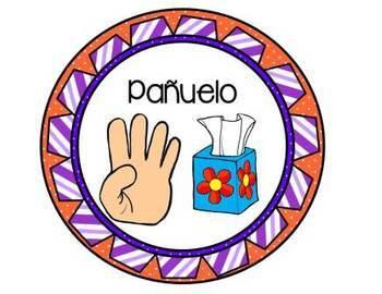 Hand Signals Posters Spanish