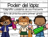 Spanish Handwriting Book for First Grade