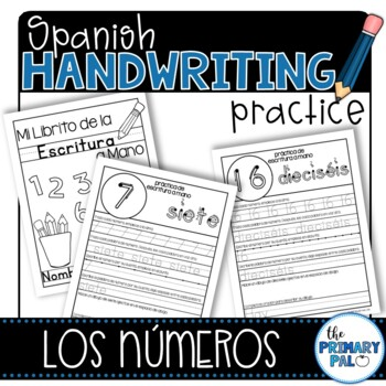 Spanish Handwriting Practice: Numbers