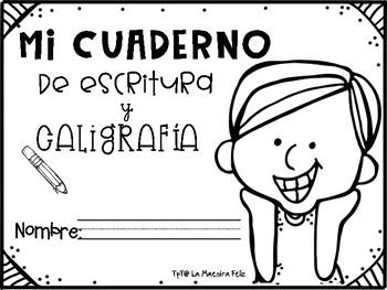 Spanish Handwriting Practice / Practica de Caligrafía con palabras en español