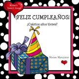 Spanish Happy Birthday ELL