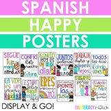 Spanish Happy Posters - Positive Posters