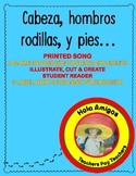 Cabeza, Hombros, Rodillas,  y Pies - Plus printable worksheets.