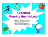 Spanish Health Log