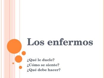 Spanish - Health PowerPoint
