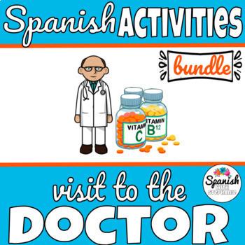 Spanish: Health and Doctor Bundle