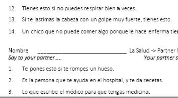 Spanish Health and Healthy Living Unit