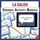 Spanish Health and Wellness Activity Bundle | La salud y e
