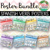 Spanish High Frequency Verb Posters BUNDLE - Multiple Tenses and Moods