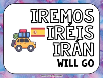 Spanish High Frequency Verb Posters (FUTURE)