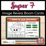 Spanish High Frequency Verbs | Super 7 | Spanish Christmas Activity | Boom Cards