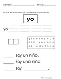 Spanish High Frequency Word Activity