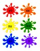 Spanish High Frequency Word Paint Splat Game