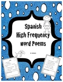 Spanish High Frequency Word Poems