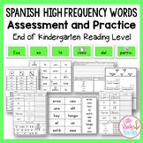 Spanish High Frequency Words: Assessment and Practice