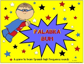 Spanish High Frequency Words Center