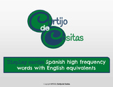 Spanish High Frequency Words - Display Cards