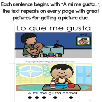 """Spanish High Frequency Words """"a"""", """"mi"""", """"me"""", """"gusta"""" and """"también"""""""