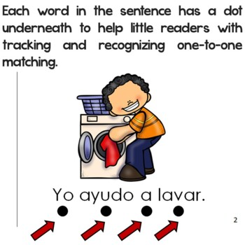 "Spanish High Frequency Words ""yo"" and ""ayudo"""