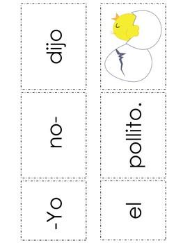 """Spanish High Frequency Words """"yo"""", """"no"""", """"dijo"""", """"el"""", """"la"""" and """"sí"""""""