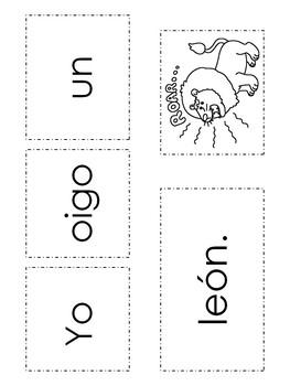 "Spanish High Frequency Words ""yo"", ""oigo"", ""un"" and ""una"""