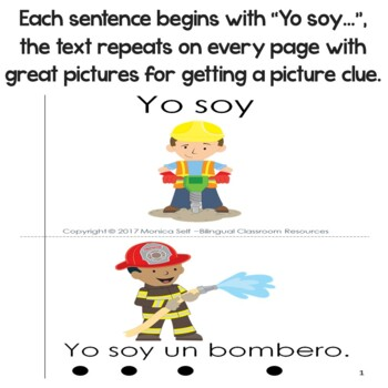"""Spanish High Frequency Words """"yo"""",""""soy"""" """"un"""" and """"una"""""""