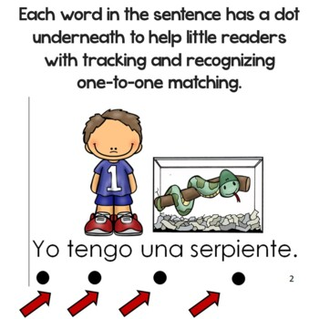 "Spanish High Frequency Words ""yo"",""tengo"" ""un"" and ""una"""