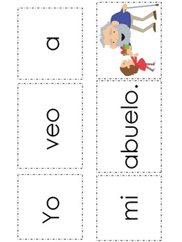 "Spanish High Frequency Words ""yo"",""veo"" and ""mi"""
