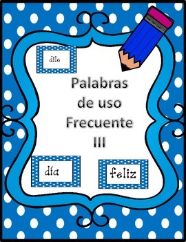 Spanish High Frequency Words3