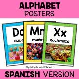Spanish Hispanic Heritage Alphabet Posters